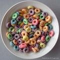 Infalting snacks processing line