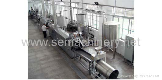 Fresh potato chips processing line 1