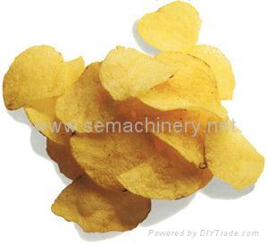 Fresh potato chips processing line 3