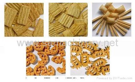 妙脆角、黄金角、葱油三角食品生产线 2