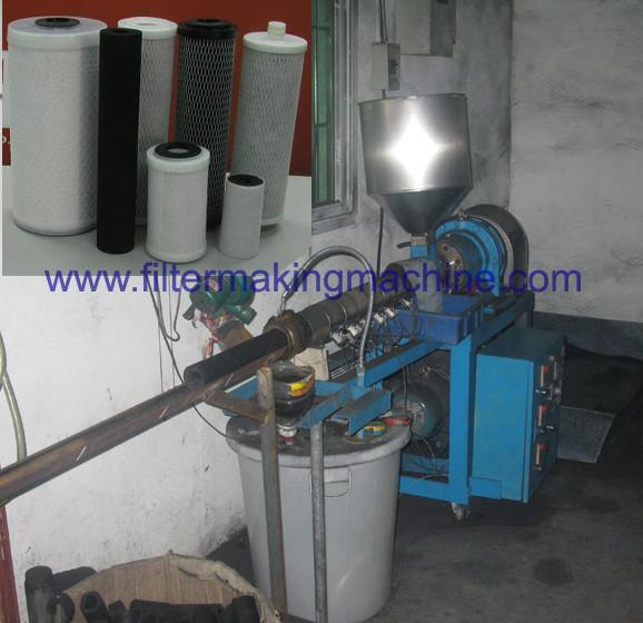 carbon block (CTO) filter making machine