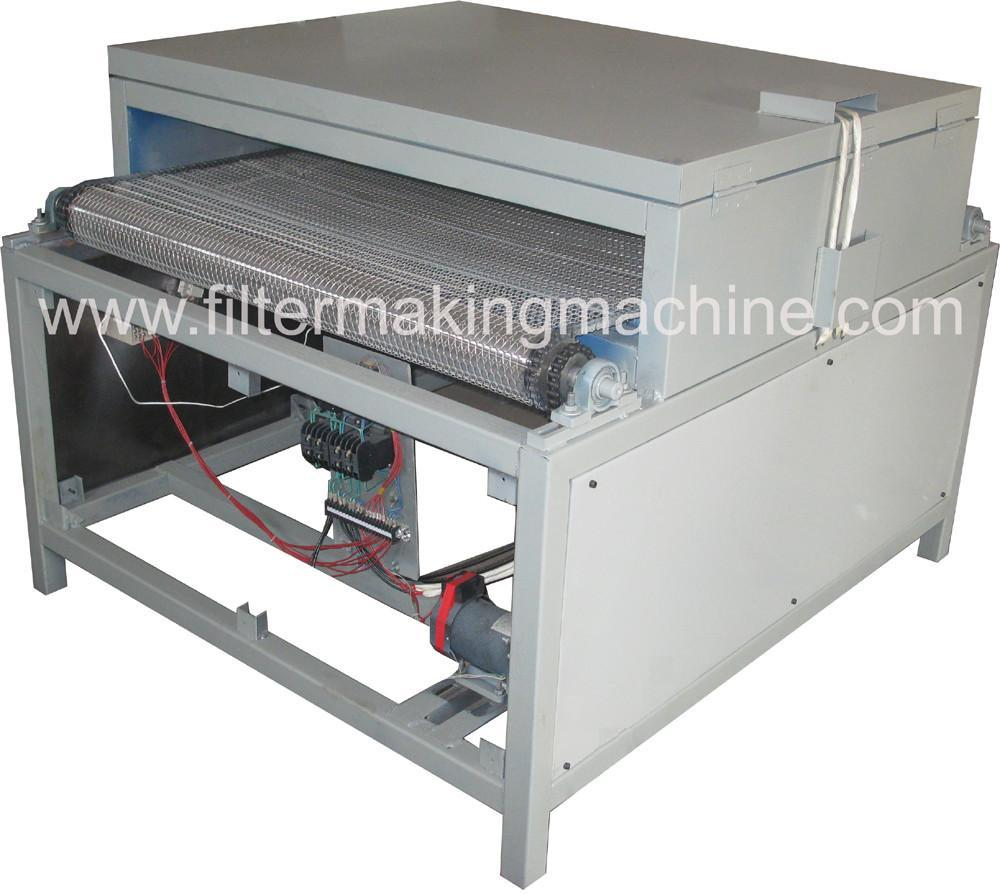 oven with covey belt