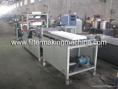 mini pleating machine/HEPA filter machine
