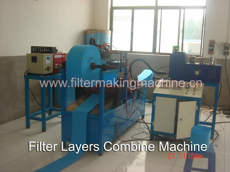 Power core filter making machine