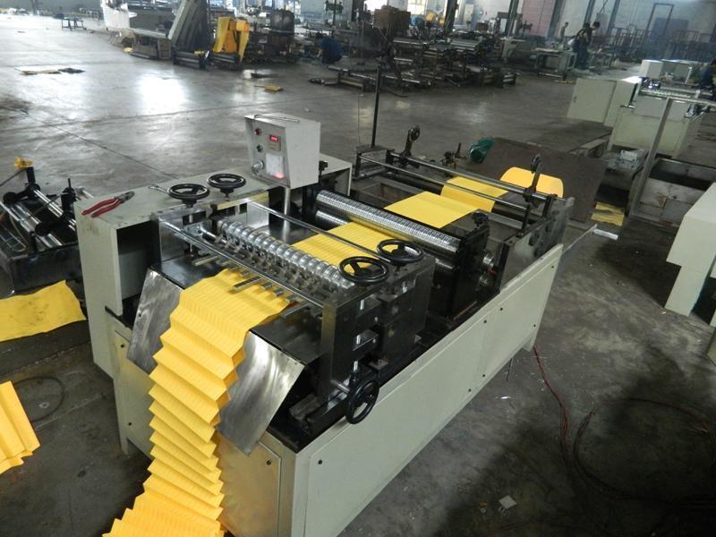 Rotary pleating machine 2