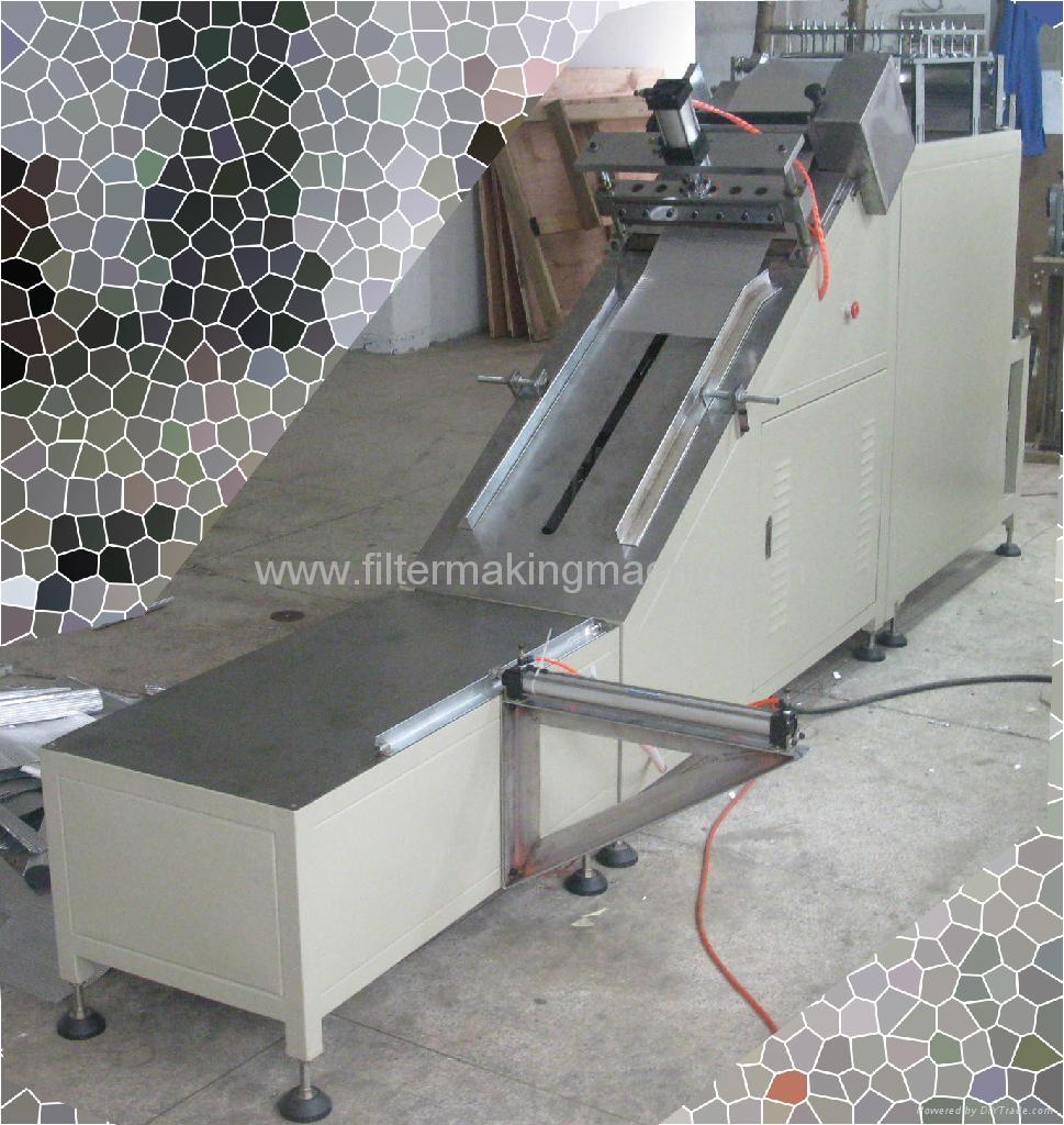 Separated Aluminum Foil Corrugating Machine