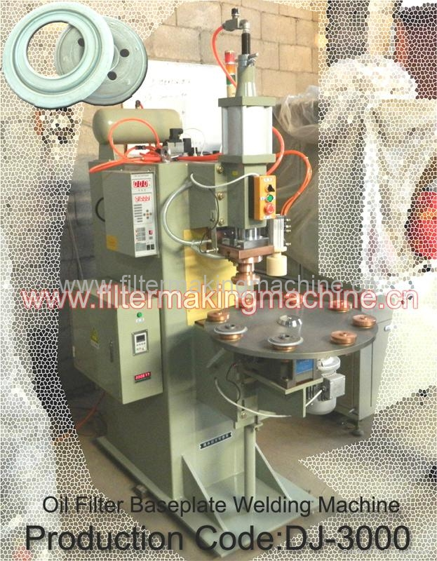 Oil Filter Baseplate Welding Machine