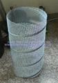 全自动菱形网卷管机 2