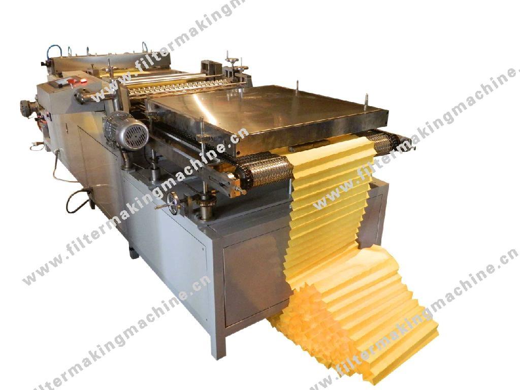 滤芯/滤清器用滚筒折纸机 1