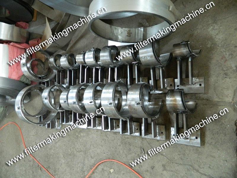 空氣濾芯鋼板(菱形)網卷管機 11