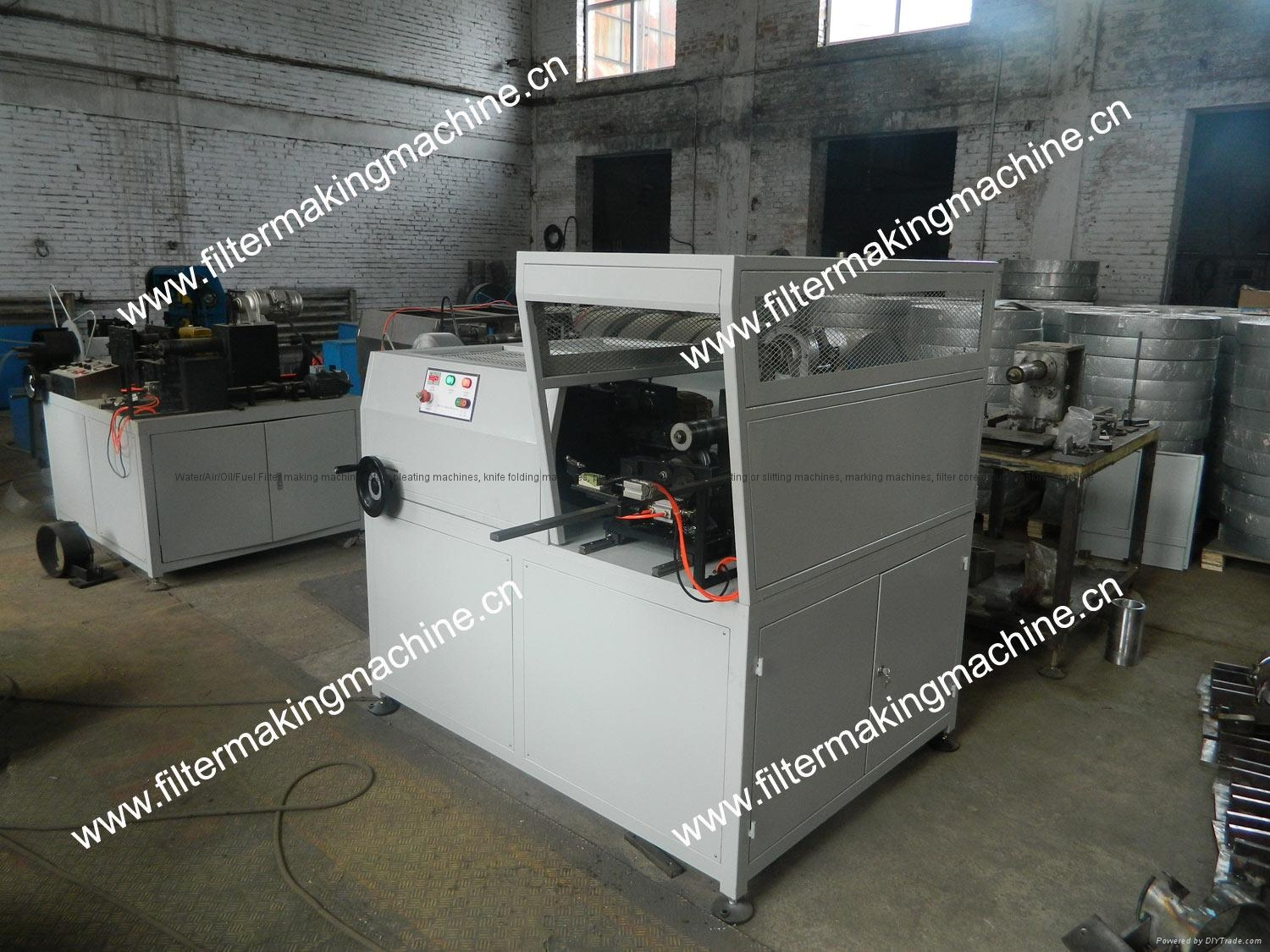 air filter mesh tube forming machine D161 W TYPE