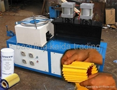 Steel clipping machine
