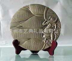 浮雕盤定製