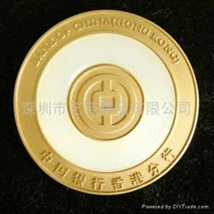 金鑲玉獎章獎牌訂製