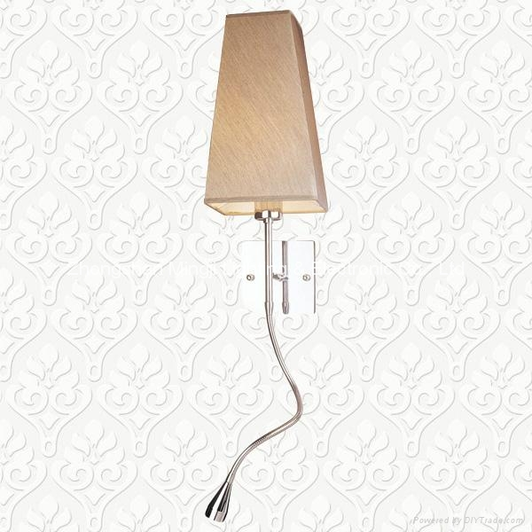 Bedside reading lamp & Hotel lamp 1