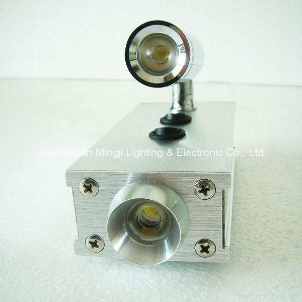 LED Wall light with spot light  4