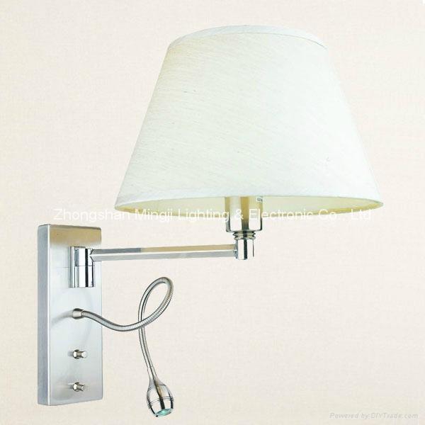 Bedside reading lamp & Hotel lamp 2