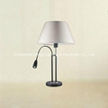 Hotel table lamp Reading lamp Task light