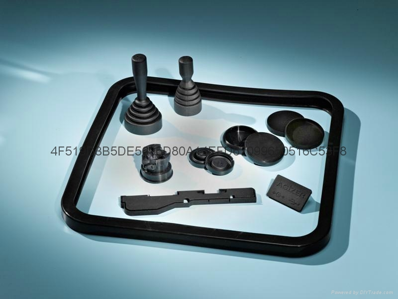 Silicone Rubber Molded Parts 1