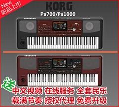 科音KORG Pa700編曲電子琴-送中文操作視頻