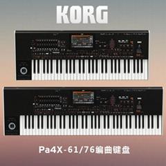 科音KORG Pa4X 61.76键专业编曲机送民乐音色