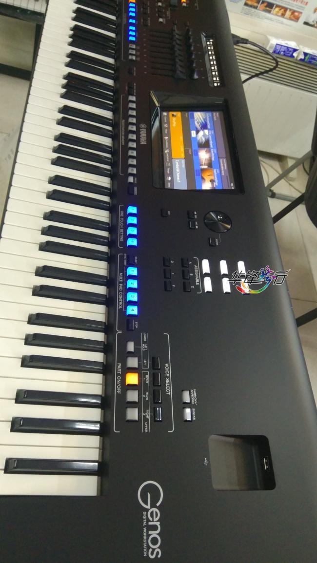 雅马哈Genos[数码音乐工作站 2