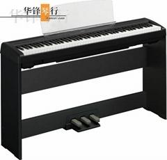 雅马哈P115B(黑) P115S(白)电钢琴