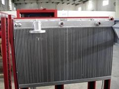 oil air cooler for compressor
