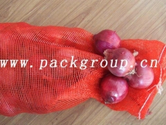 sell china red onion mesh bags size 50x85cm