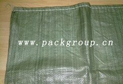 sell green pp woven rubb