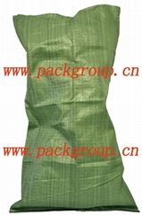 sell green polypropylene bags for construction waste