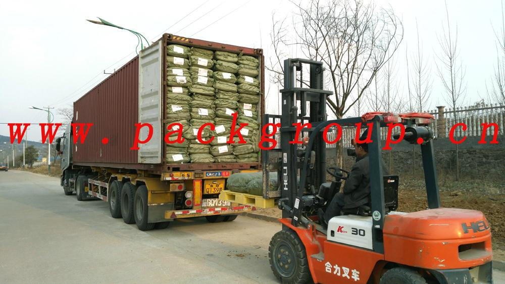 sell green pp garbage bags for construction waste 5