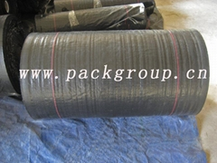 sell black color weed mat weed barrier
