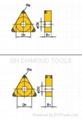 PCD inserts three corner