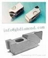 Diamond PCD PKD PCBN cartridge tipped insert