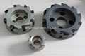 PCD Dimonnd CNC Face Milling Cutter and cartridges 2