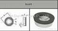 PKD PCD ISO INSERT RDHX 12T3