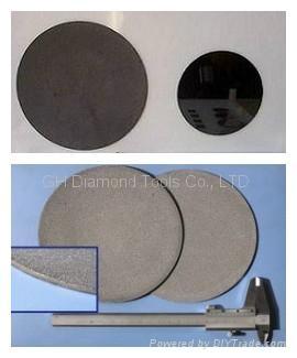 Super quality HPHT CVD synthetic diamonds white diamond cvd plate 3