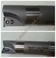 PCD Turning tool inserts CNC Tipped Cutter -TBGT090204 and Body