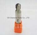 Diamond cove box bit, PCD Woodworking router bits