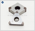 CNC Indexable Tipped PCD Diamond Insert Turning Tool Inserts