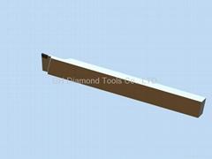 PCD grooving tools