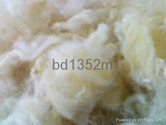 Tannery white washed wool