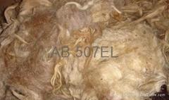 Light grey coarse carpet fleece wool