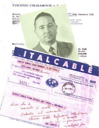 The founder: Mr. Chiaramonte Vincenzo