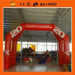 2014 high quality inflatable arches,inflatable archway
