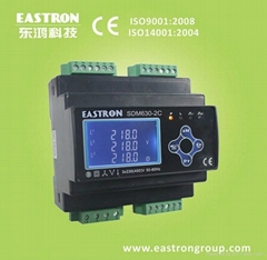 multi user three phase energy meter with RS485 and Pulse output SDM630-2C