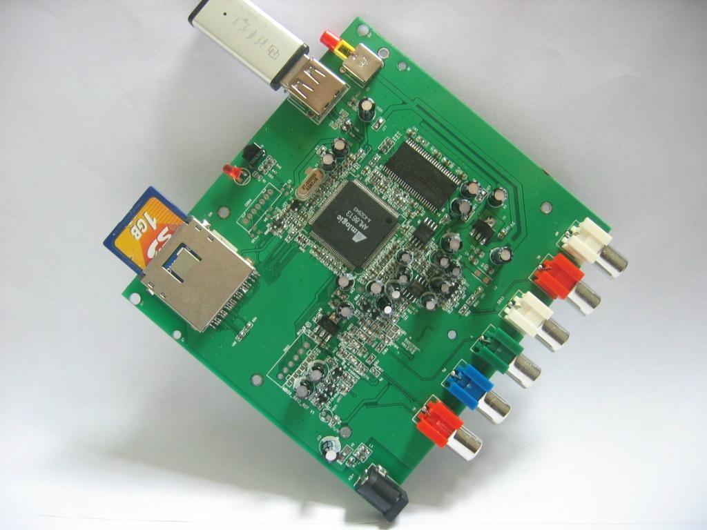 USB/SD Card Audio/music Video Decoder board 1