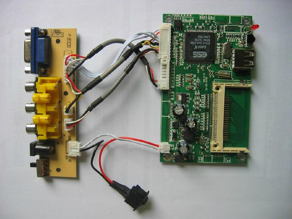 Advertising player decoder board 3