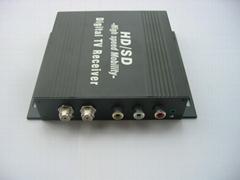 車載高速DVB-T數字電視接收機
